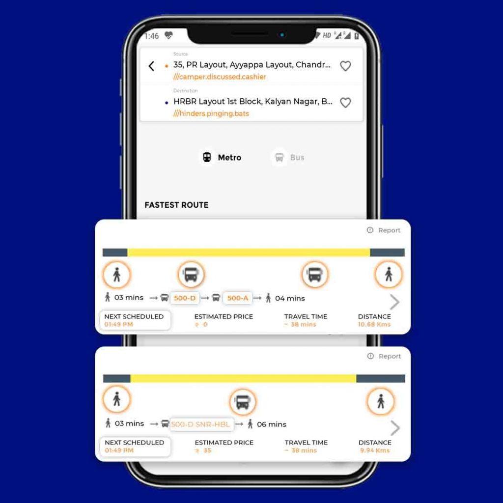 Tummoc app, transit app, bus app, metro app, bmtc bus search, Bangalore transit, Public Transport