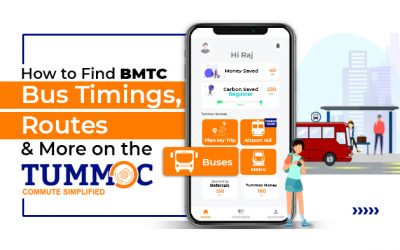 How to Find BMTC Bus Timings, Routes & More on the Tummoc App!