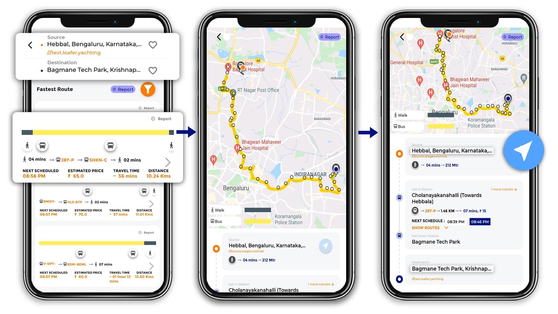 Bus, Bus timings, Public Transport, Tummoc app, Tummoc
