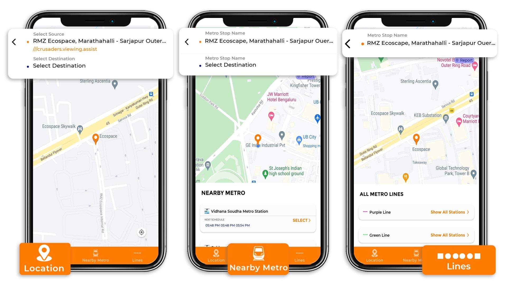 Tummoc app, Tummoc, Namma metro, Green line, Public transportation