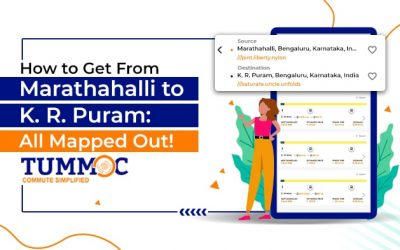 How to Get From Marathahalli to KR Puram: All Mapped Out!