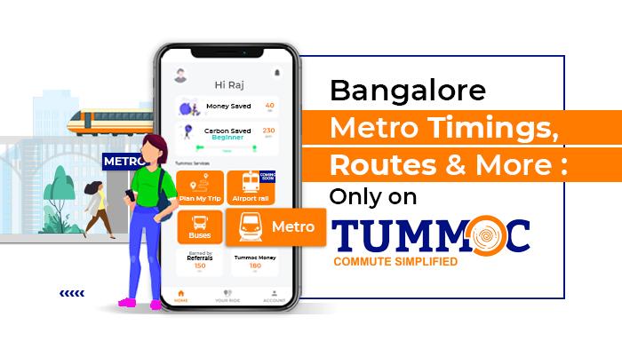 Tummoc, Tummoc app, Public transport information