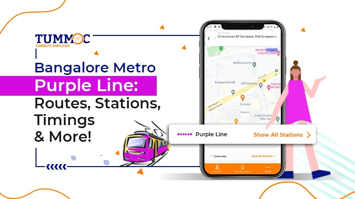 Namma Metro Purple Line: Routes, Stations, Fares, Timings & More!