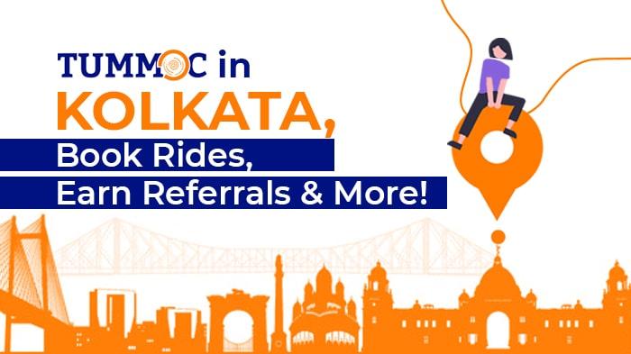 Tummoc in Kolkata: Book Rides, Earn Referrals & More!