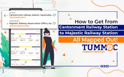 How to Get to Majestic Railway Station from Cantonment Railway Station #AllMappedOut