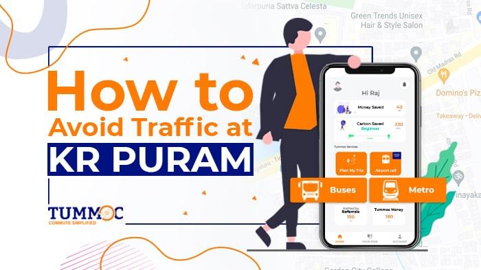 Tummoc, Tummoc App, Public transport information, KR Puram
