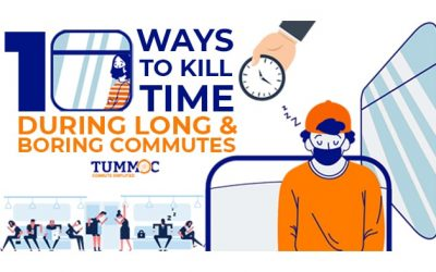 10 Ways to Kill Time During Long & Boring Commutes