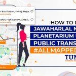 Tummoc, Tummoc app, Public transport information, Jawaharlal Nehru