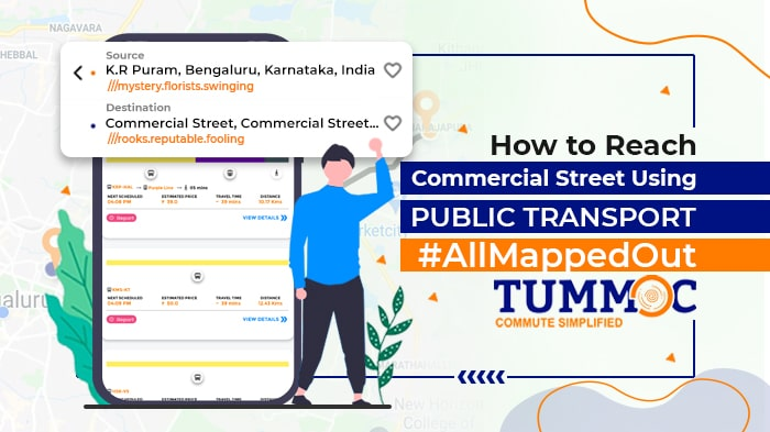 How to Reach Commercial Street Using Public Transport #AllMappedOut