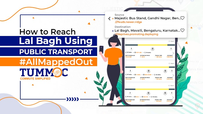 How to Reach Lal Bagh Using Public Transport #AllMappedOut