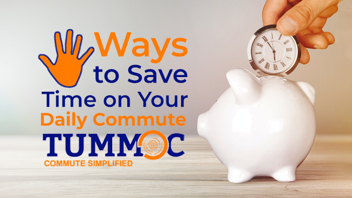 5 Ways to Save Time on Your Daily Commute