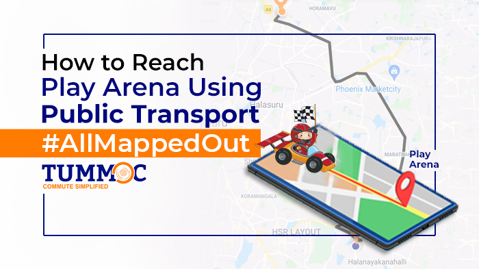 How to Reach Play Arena Using Public Transport #AllMappedOut